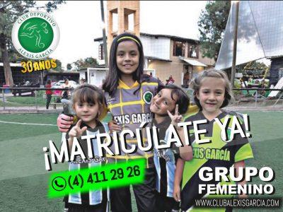 Grupo femenino